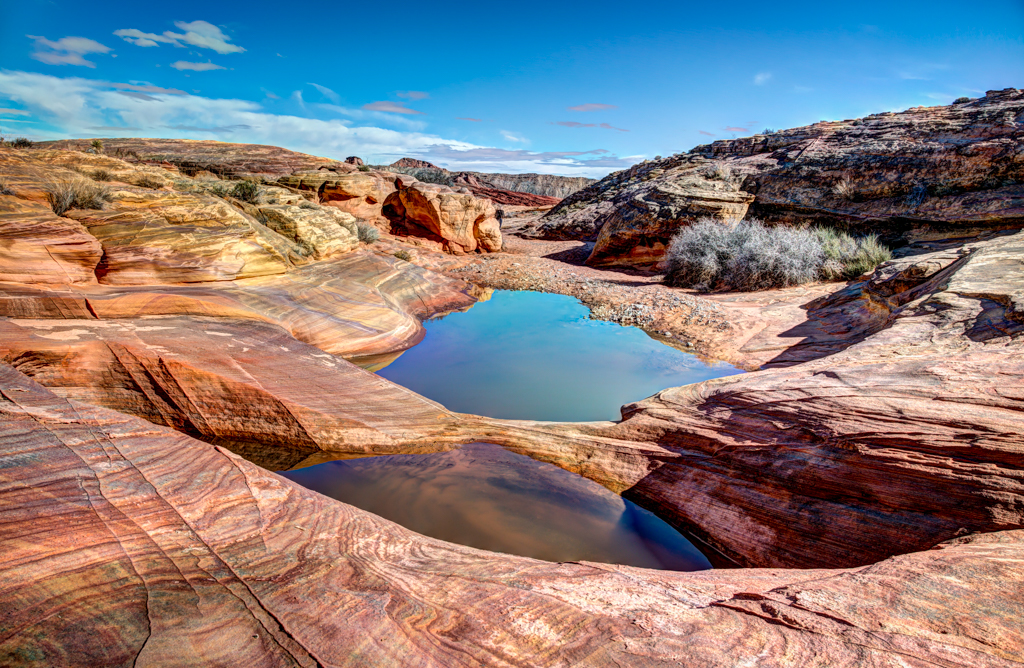 Valley of Fire Tide Pools