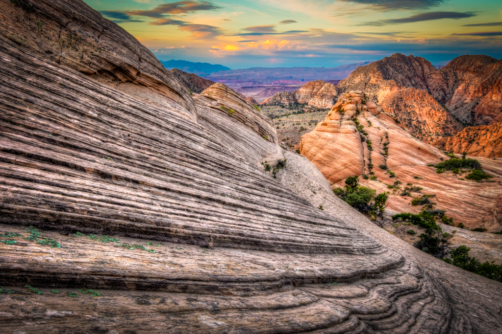 Yant Flat, Southern Utah at Sunrise